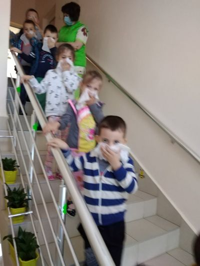 "Учебна евакуация- Пожар в ДГ №3""Здравец"" - ДГ №3 Здравец - Търговище"